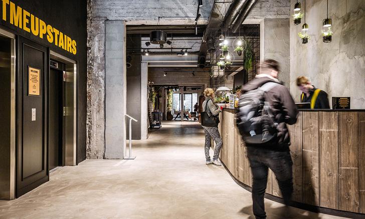 Брутальный отель в Брюгге, вдохновленный стилем Нью-Йорка (фото 4)