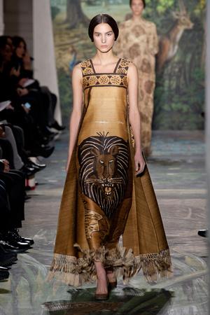 Показы мод Valentino Весна-лето 2014 | Подиум на ELLE - Подиум - фото 3782
