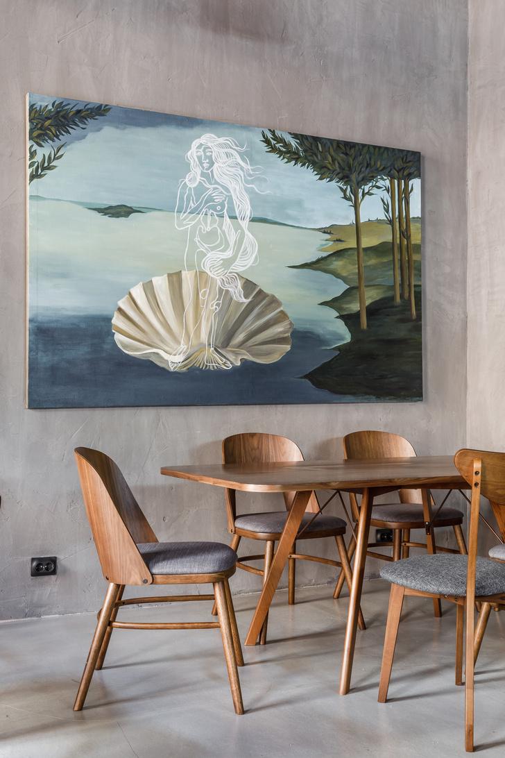 Кофейня в Краснодаре в стиле лофт (фото 8)