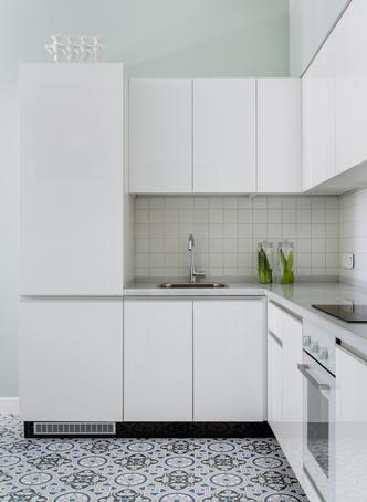Эклектичная квартира 38 м² в Москве (фото 1)