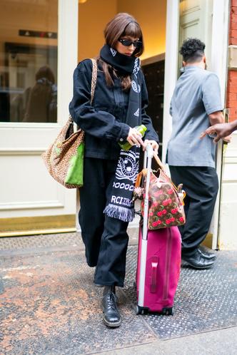 Белла Хадид в Сохо (фото 0.1)