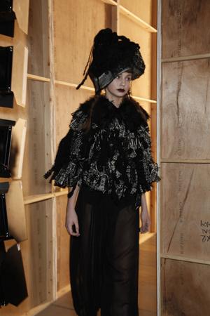 Показ John Rocha коллекции сезона Осень-зима 2011-2012 года Prêt-à-porter - www.elle.ru - Подиум - фото 237521