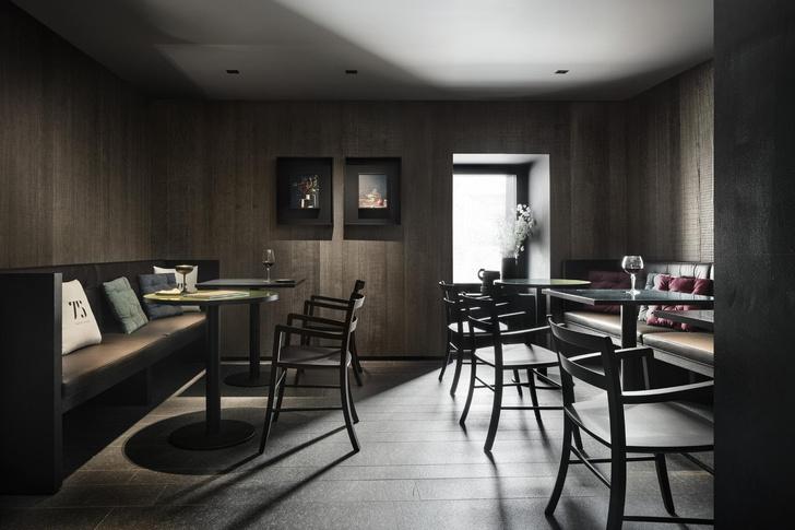 Винный бар-бистро 75 Café & Lounge — новый проект Пьеро Лиссони (фото 5)