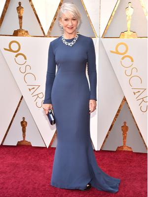 Синяя птица: Хелен Миррен на премии  Оскар-2018 (фото 1)