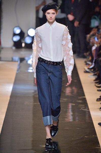 Неделя моды в Париже: показы Alexander McQueen и Paul & Joe ready-to-wear осень — зима 2015-2016 | галерея [2] фото [13]