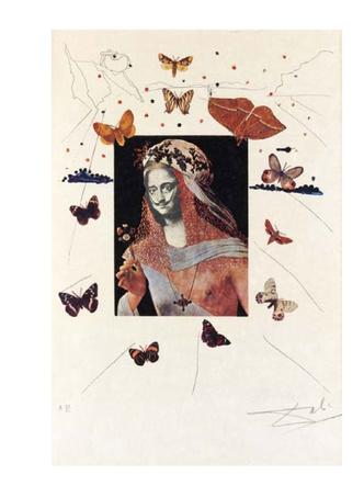 Открывается выставка графических работ Сальвадора Дали