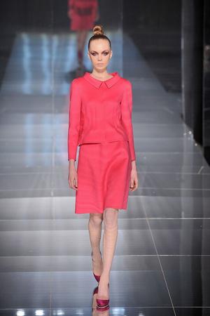 Показы мод Valentino Весна-лето 2009 | Подиум на ELLE - Подиум - фото 3275