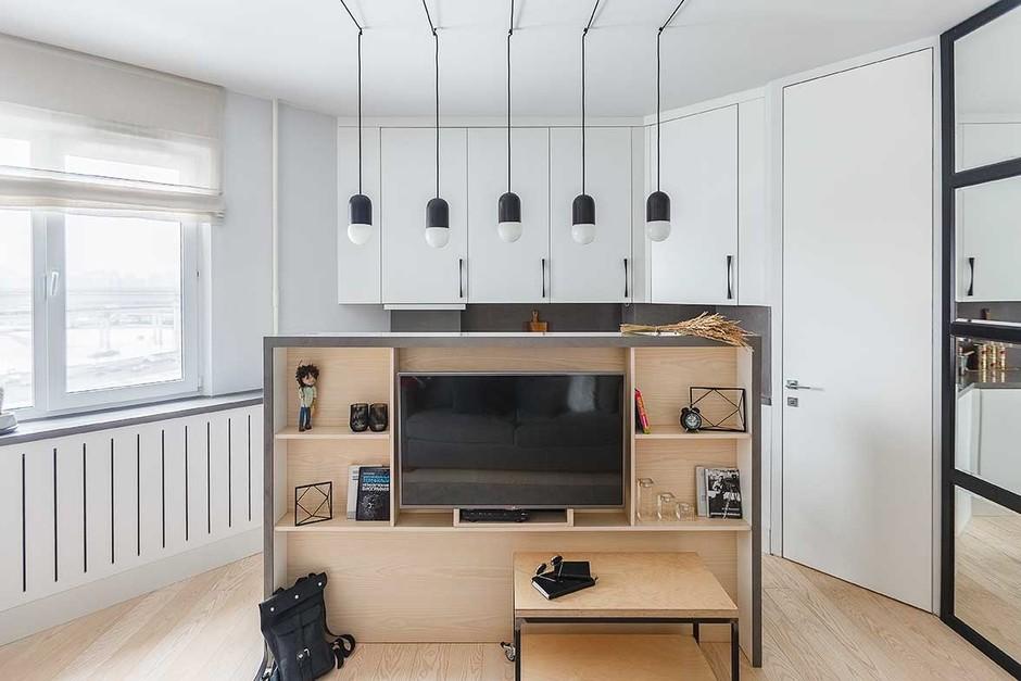 25 интерьеров с белыми стенами (галерея 0, фото 1)