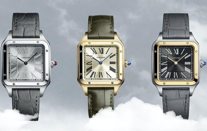 Дождались! В открывшиеся бутики Cartier поступили часовые новинки Santos-Dumont (фото 4)