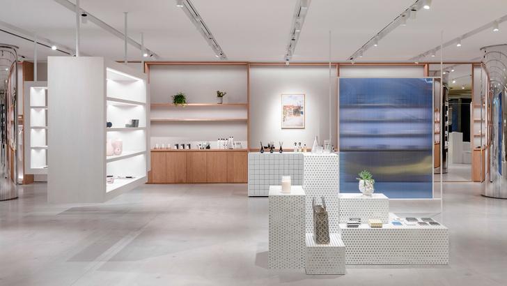 Городские ландшафты в интерьерах бутика Assemble by Réel (фото 15)