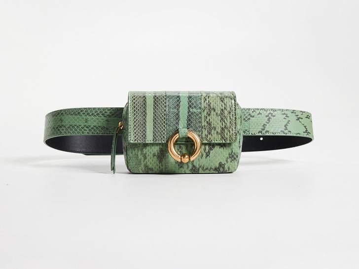 20 стильныхпоясных сумок налето (фото 8)