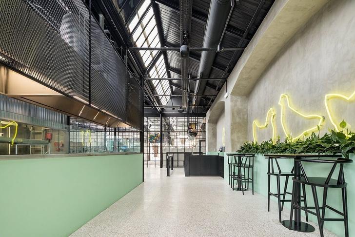 В стиле лофт: дизайнерский ресторан в здании бывшей фабрики (фото 2)