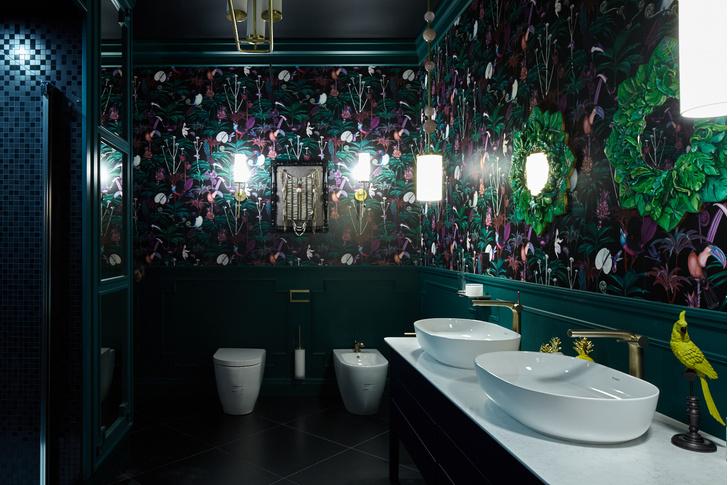 Bathroom Biennale: тропическая ванная Жени Ждановой (фото 7)