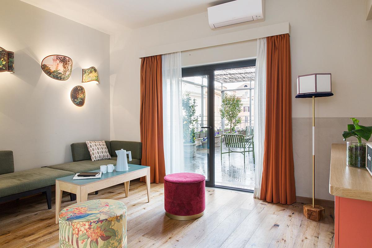 Комната в Риме: уютный бутик-отель в духе кондоминиума (галерея 15, фото 2)