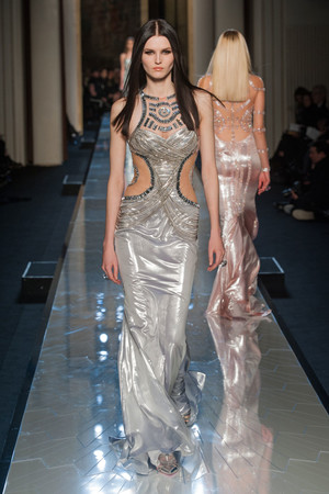 Показ Atelier Versace коллекции сезона Весна-лето 2014 года Haute couture - www.elle.ru - Подиум - фото 574005