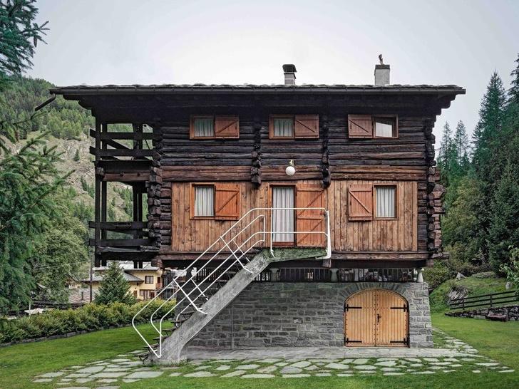 Дом-легенда: альпийская хижина по проекту Карло Моллино (фото 0)