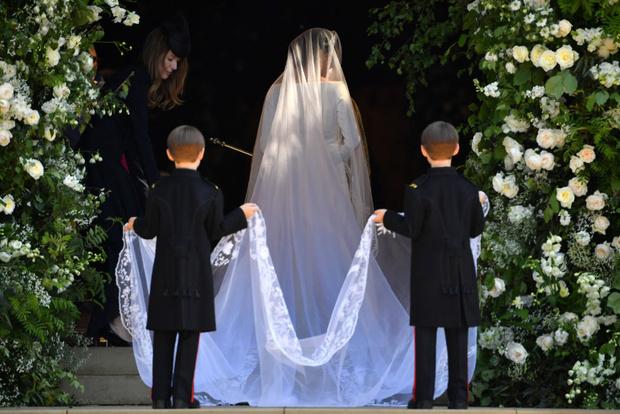 Свершилось! Принц Гарри и Меган Маркл стали мужем и женой (фото 7)