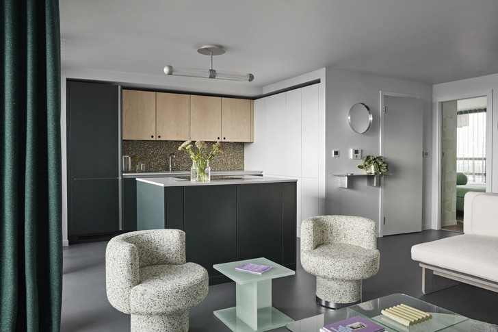 В лондонской Balfron Tower открыли две шоу-квартиры с обстановкой (фото 3)