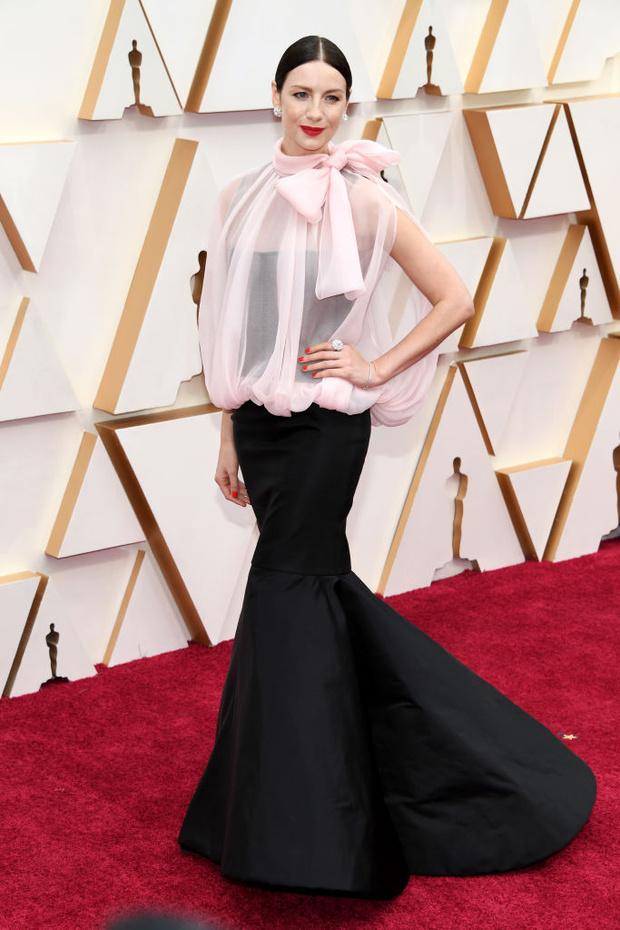 Моя прекрасная леди: Катрина Балф в  Valentino на «Оскаре-2020» (фото 1)