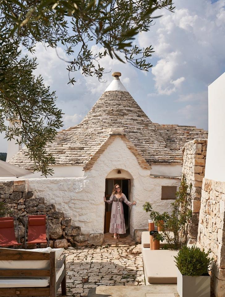 Старинный дом-трулло для модной римлянки в Апулии (фото 0)