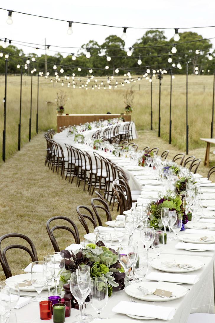 Свадьба  на природе (фото 1)