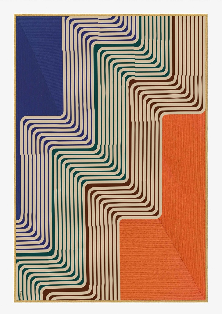 Геометрия цвета: коллекция Maison Hermès 2020 (фото 14)