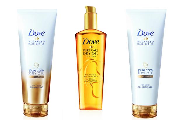 Dove Advanced Hair Series Pure Care Dry Oil