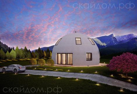Купольные дома от российской компании   галерея [1] фото [5]