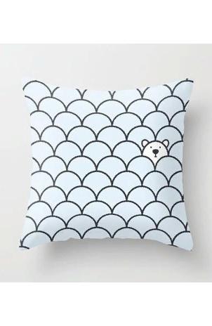Подушка The Last Polar Bear Pillow, John Tibbott.