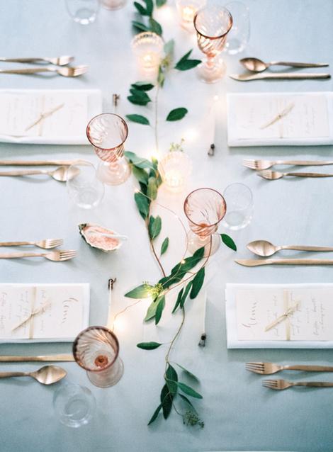 Зелень в декоре свадьбы: 7 вдохновляющих идей (фото 2)