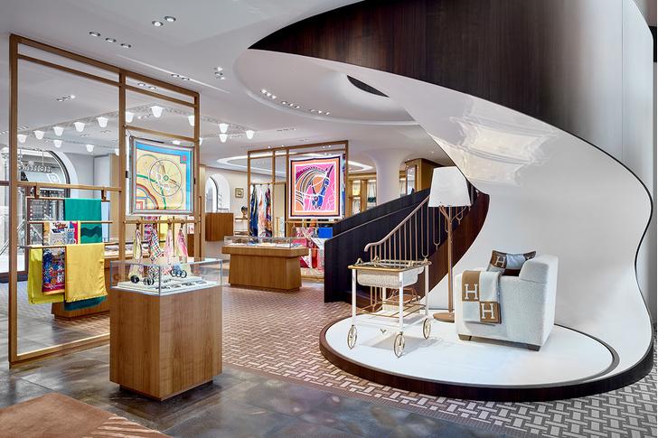 Смена декораций: московский бутик  Hermès (фото 5)