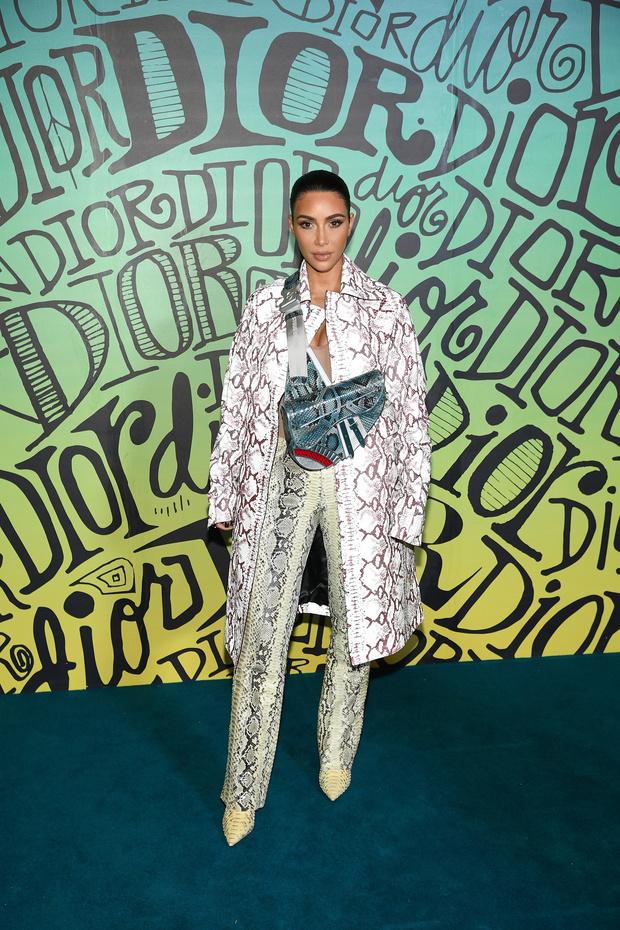Винни Харлоу, Ким Кардашьян и другие гости показа Dior (фото 2)