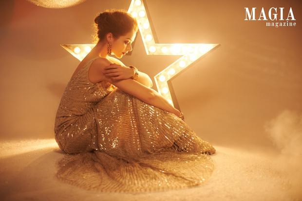 Актриса Марина Александрова в съемке для Magia di Gamma