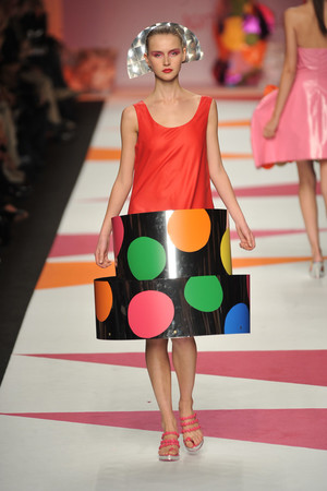 Показы мод De la Prada Весна-лето 2009 | Подиум на ELLE - Подиум - фото 3364