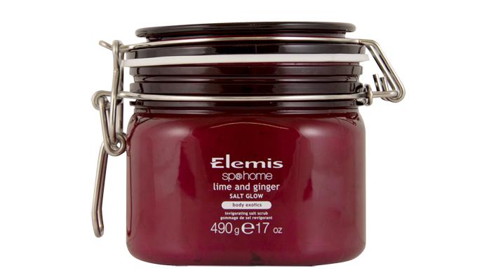 Солевой пилинг для тела «Лайм-Имбирь» Spa Home Lime and Ginger Salt Glow Body Exotic от Elemis