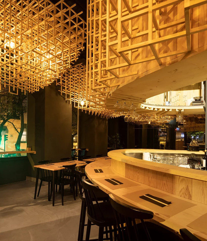 Лапшичная в Лиссабоне по проекту JCFS Architects (фото 4)