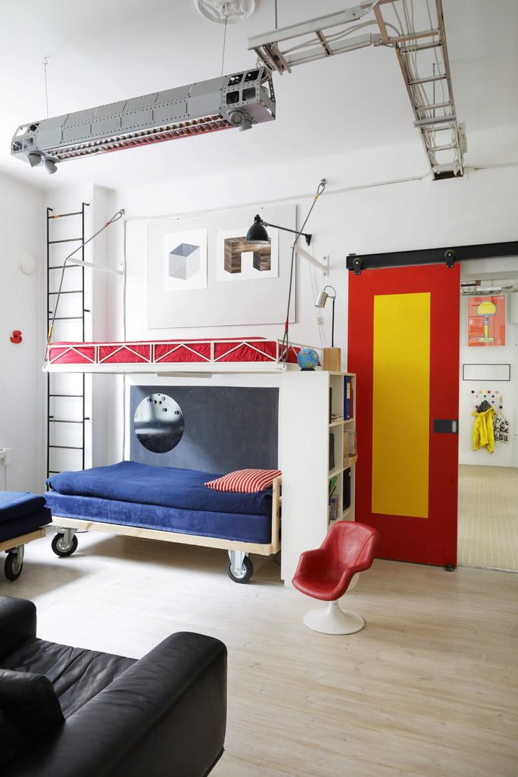 Квартира-студия творческой пары в Хельсинки (фото 7)