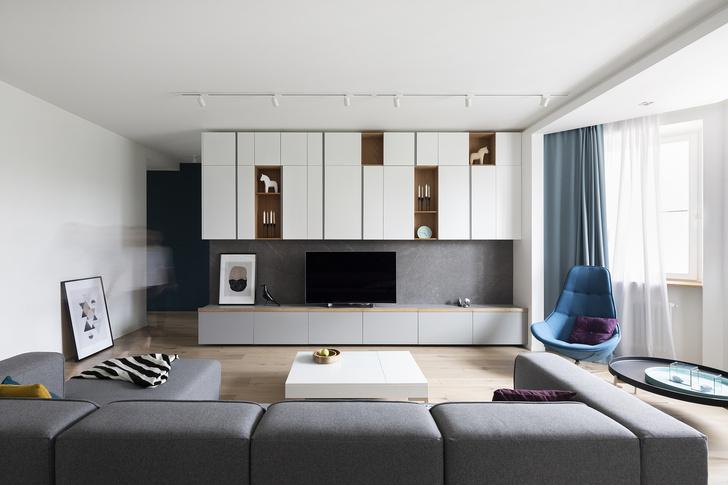 Квартира 150 м²: нескучный проект в скандинавском стиле (фото 0)