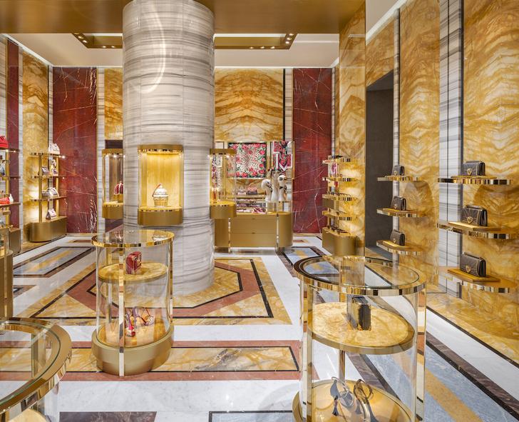 Экстравагантный бутик Dolce&Gabbana в Риме (фото 0)