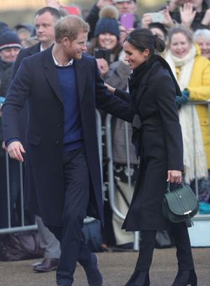 Новый выход принц Гарри и Меган Маркл (фото 3)