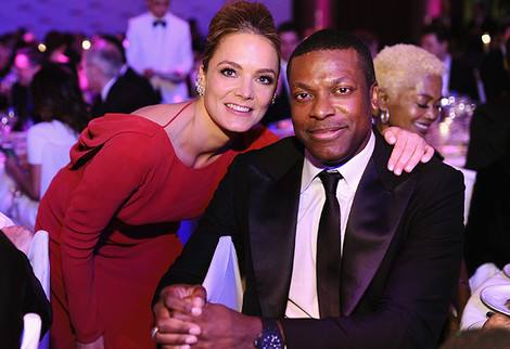 Катарина Харф и Крис Такер фото