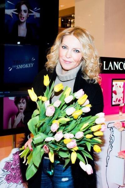 Знаменитости встретили весну в корнере Lancôme   галерея [1] фото [6]