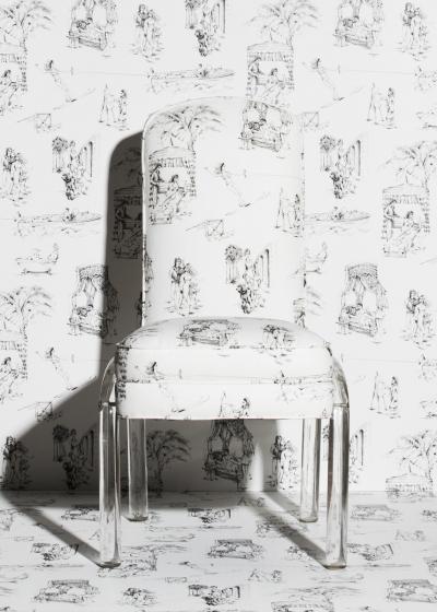 Новая коллекция обоев и текстиля Саши Бикофф (галерея 8, фото 1)