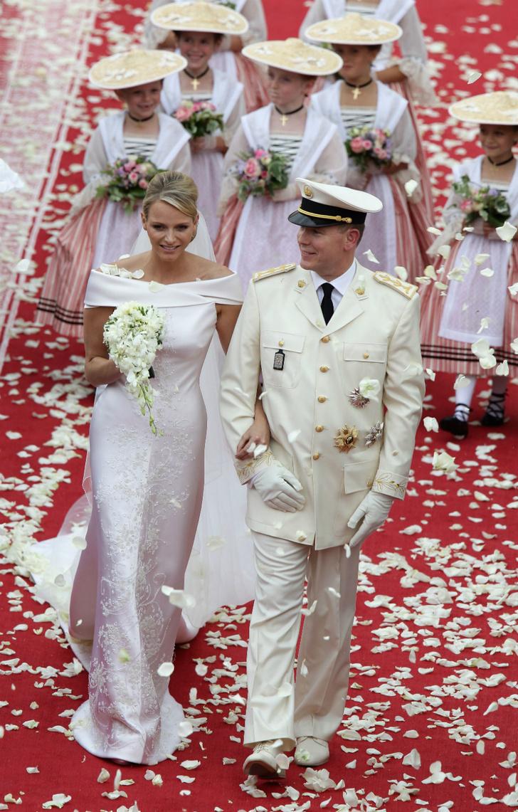 Свадьба князя Альбера и княгини Шарлен