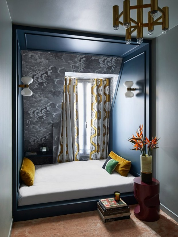 Парижская квартира дизайнера Кристофа Пойе (фото 10)