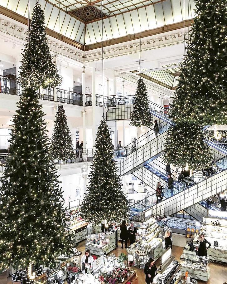 Зимняя сказка: лучший рождественский декор витрин (фото 1)