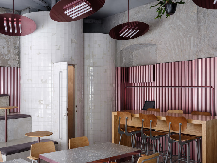 Rare Pastrami Bar по проекту Crosby Studios  в Москве (фото 4)