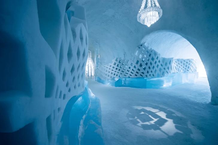 В Швеции открылся ледяной отель (фото 3)