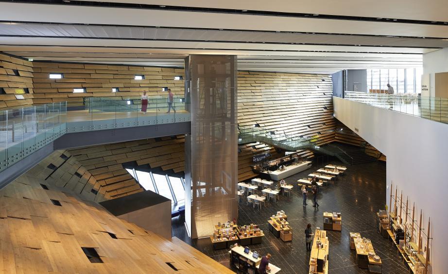 Музей Виктории и Альберта по проекту  Кенго Кумы открывается в Данди (галерея 11, фото 2)