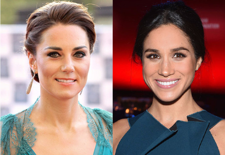 Кейт Миддлтон VS Меган Маркл: любимые женщины британских принцев фото [1]